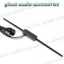 Asiento Interior Vidrio de montaje radio Amplificado Activo Antena Antena estéreo del coche