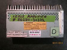 LEXUS AMPLIFIER 86280-30372