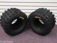YAMAHA YFZ 450 2004-2013 PAIR (2) 20x10-9 AMBUSH SPORT ATV TIRES REAR