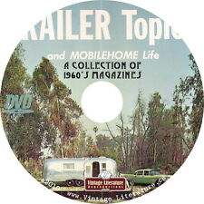 Trailer Topics - 1960's Rv and Camping Magazine Collection on DVD