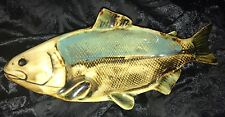 Vintage Marked Ceramic Multicolored Fish Plate Dish Made In Japan