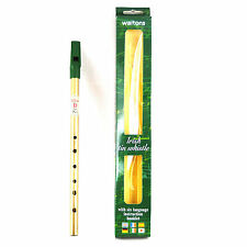 Irish Brass Tin Whistle Single D Pack