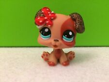 Littlest Pet Shop # 2235 Sparkles Puppy Boxer Dog Accessories Included