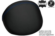 BLUE STITCH LEATHER DASH COWL HOOD COVER FITS MG MGF MG TF 1995-2005 STYLE 2