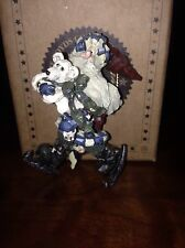 "BOYDS BEARS RETIRED ""QUICK AS A FLASH'"" CHRISTMAS ORNAMENT"