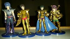Saint Seiya Myth Cloth Vintage Figures set.  Knights of the zodiac. 4 statuettes