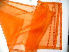 Organza Tischläufer orange, 40 x 180 cm