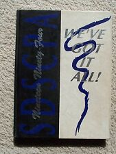 1994 SAN DIEGO SCHOOL OF CREATIVE AND PERFORMING ARTS YEAR BOOK SDSCPA SD, CA