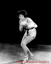"""Actress Clara Bow w/ Boxing Gloves in """"Rough House Rosie"""" -Celebrity Photo Print"""