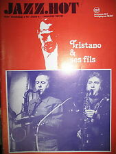 JAZZ HOT N° 325 TRISTANO ET FILS WARNE MARSH EDDIE BURNS ARCHIE SCHEEP 1976