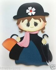 MARY POPPINS PRINCESS DRESS UP PREMADE PAPER PIECING BY MY TEAR BEARS KIRA
