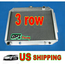 3 ROW 1967-1970 68 69 Plymouth Fury Auminum RADIATOR