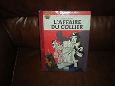 BLAKE ET MORTIMER L'AFFAIRE DU COLLIER - EDITION DOS TOILE 2007 POUR LE MONDE