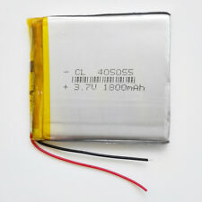 1800mAh 405055 LiPo Polymer Battery 3.7V For power bank DVD mobile phone PDA GPS