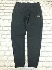 EMPORIO ARMANI EA7 UK 2XL BLACK NERO GOLD BADGE JOGGING BOTTOMS RRP £99
