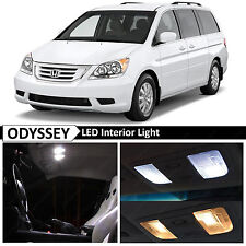 15x White LED Light Interior Package Kit for 2005-2010 Honda Odyssey