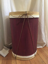 "THE PERFECT HOLIDAY ""FURNITURE"" ADDITION: A UNIQUE ""CHRISTMAS DRUM"" END TABLE"