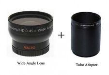 Wide lens for Panasonic DMC-FZ100 DMCFZ100 DMW-LA5