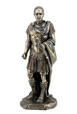 Julius Caesar Roman Emperor Statue Sculpture Figure - WE SHIP WORLDWIDE