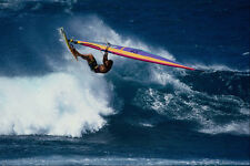 568022 Off The Lip Hookipa Maui Dave Kalama A4 Photo Print