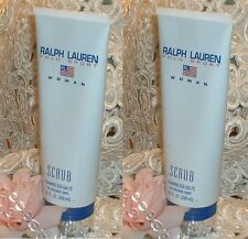 ~ LOT~ Polo Sport Ralph Lauren Women Perfume d Bath Scrub ~ 6.8 oz / 200ml EACH