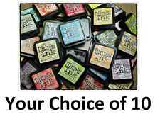 10 Tim Holtz Full Size Distress Ink Pads -Choose Available Inks from Description