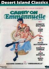 Carry On Emmannuelle (2012, DVD NEUF) DVD-R