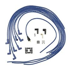 ACCEL Spark Plug Wires BLUE UNIVERSAL Cut to Fit Chevy 305 350 Pontiac Dodge GMC