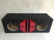 JL Audio 12W7 12W7 AE Dual Ported Box Special Edition, Red