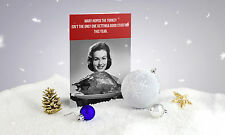 New Funny Joke A GOOD STUFFING Rude Offensive Christmas Greeting Card + Envelope
