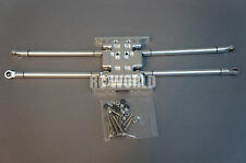 Axial SCX10  METAL SKID PLATE And  METAL TRAILING ARMS 125MM *NEW*