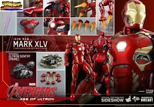 Hot Toys Avengers Age of Ultron Iron Man Mark XLV 45 Diecast 1/6 Ready MMS300D11