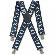 Brimarc Scottish Flag Braces 950432 Heavy duty elasticated braces Suspenders