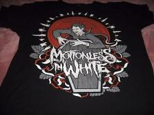 Monsters in White Adult Medium T-Shirt