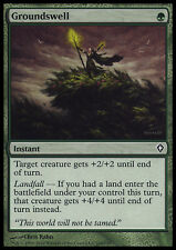 MTG GROUNDSWELL FOIL EXC - TERRENO ONDOSO - WWK - MAGIC