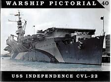 Classic Warship USS Independence CVL-22 Softcover Reference 40  VF ST