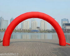 Brand New Discount 20ft*10ft D=6M/20ft inflatable Red arch Advertising