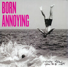 """Born Annoying - Living How You're Not 7"""" CRO-MAGS FLOORPUNCH BL'AST"""