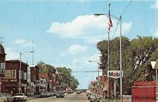 PHILLIPS WI 1962 Street Scene Old Cars Old Stores VINTAGE WISCONSIN SMALL TOWN