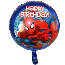 "24pc MARVEL SPIDERMAN 18"" FOIL BALLOON BIRTHDAY PARTY SUPPLIES FAVOR NEW"