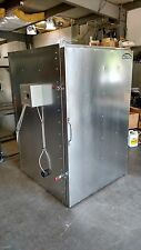powder coat electric curing oven    NEW flat floor model   6ft tall inside