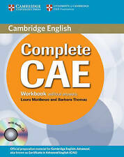 Complete CAE Workbook without Answers with Audio CD, Thomas, Barbara, Matthews,