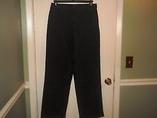 Denim&Co Ladies Jeans with Stretch and Tummy Control Size 14 Black/Gray Wash NWT