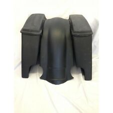 "HARLEY DAVIDSON EXTENDED STRETCHED 6"" SADDLEBAGS WITH LID AND FENDER FIBERGLASS"