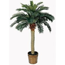 Nearly Natural 4 Ft Sago Palm Tree - Artificial Tropical Decor, 5043