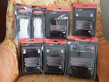 5 NETWORKING CABLES AND 2 TELEPHONE LINE CORDS  (FOR BROADBAND ROUTER)  ALL NEW