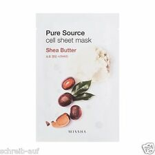 3x MISSHA Pure Source Cell Sheet Mask (Shea Butter)