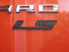 "2010-2015 Camaro ""LS"" Emblem Badge w Choice of Color Composite"