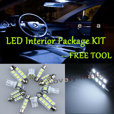 LED Interior Package Kit Bulb Xenon White 12pc For 97-08 Pontiac Grand Prix  RU