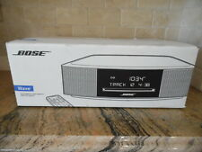 Bose Wave Music System IV w/ CD. Platinum Silver. 1 Yr Warranty. New Sealed Box.